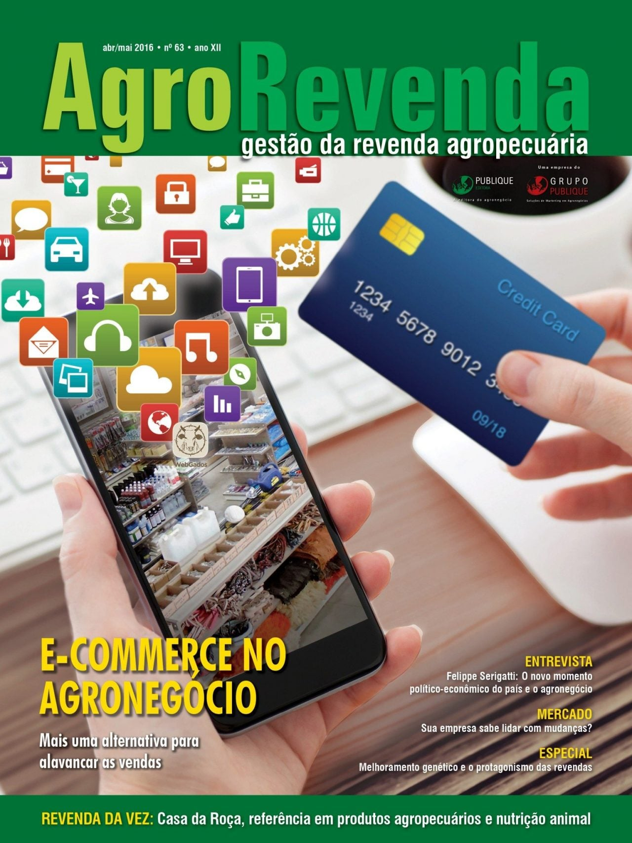 Capa Revista AgroRevenda nº63